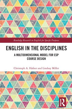 English in the Disciplines: A Multidimensional Model for ESP Course Design book cover