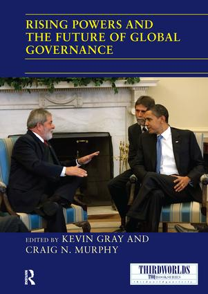 Rising Powers and the Future of Global Governance book cover
