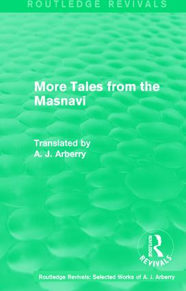 Routledge Revivals: More Tales from the Masnavi (1963) book cover