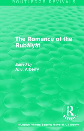 Routledge Revivals: The Romance of the Rubáiyát (1959) book cover