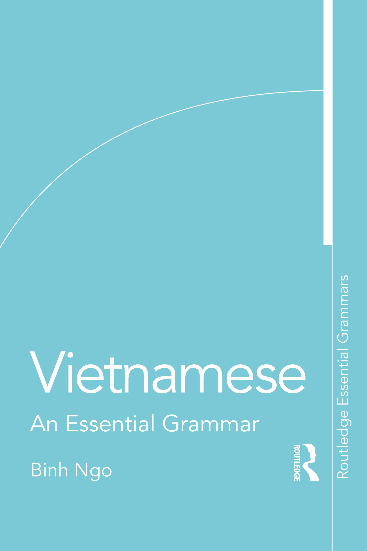 Vietnamese: An Essential Grammar book cover