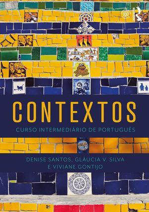 Contextos: Curso Intermediário de Português book cover
