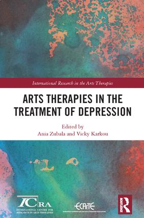 Arts Therapies in the Treatment of Depression: 1st Edition (Hardback) book cover