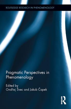 Pragmatic Perspectives in Phenomenology Couverture du livre