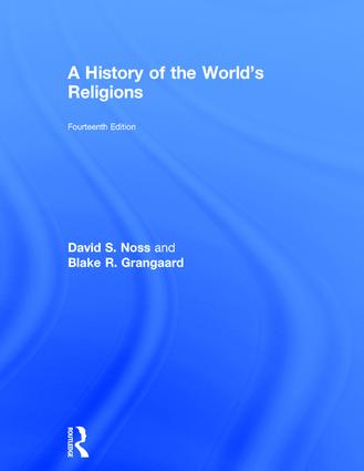 A History of the World's Religions: 14th Edition (Hardback) book cover