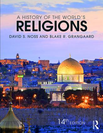 A History of the World's Religions: 14th Edition (Paperback) book cover