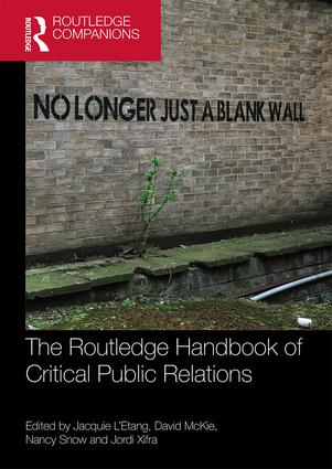The Routledge Handbook of Critical Public Relations book cover