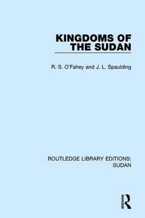 Kingdoms of the Sudan: 1st Edition (Paperback) book cover