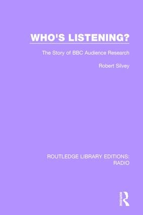 Who's Listening?: The Story of BBC Audience Research book cover