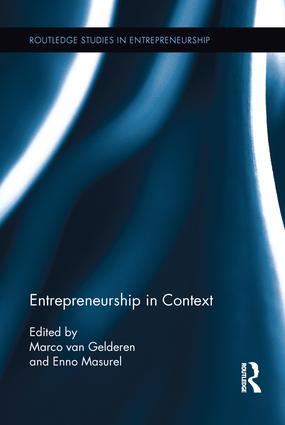 Entrepreneurship in Context book cover