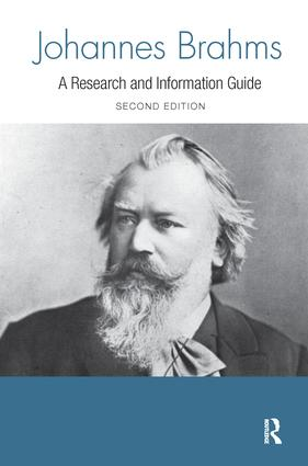 Johannes Brahms book cover