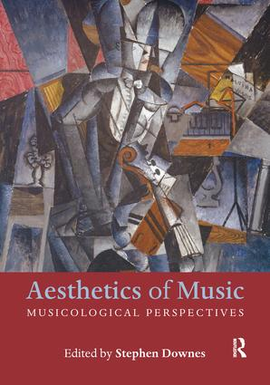 Aesthetics of Music (Paperback) book cover