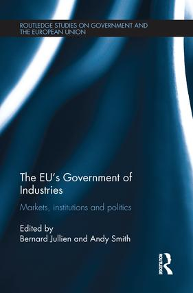 The EU's Government of Industries: Markets, Institutions and Politics book cover
