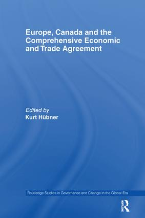 Europe, Canada and the Comprehensive Economic and Trade Agreement book cover