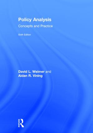 Policy Analysis: Concepts and Practice book cover