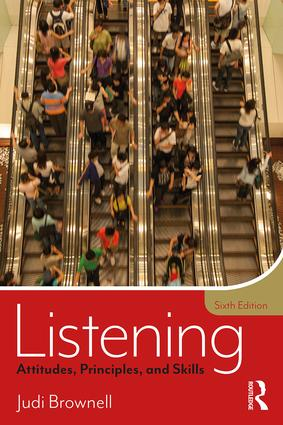 Listening: Attitudes, Principles, and Skills book cover