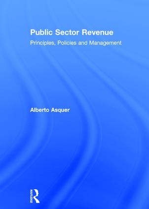 Public Sector Revenue: Principles, Policies and Management, 1st Edition (Hardback) book cover