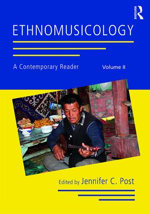 Ethnomusicology: A Contemporary Reader, Volume II: 1st Edition (Paperback) book cover