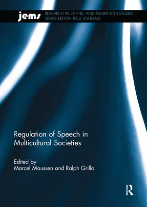 Regulation of Speech in Multicultural Societies book cover