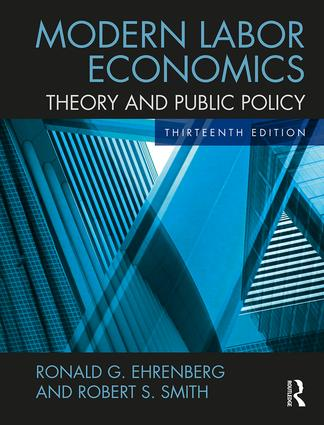 Modern Labor Economics: Theory and Public Policy book cover