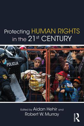 Protecting Human Rights in the 21st Century (Paperback) book cover