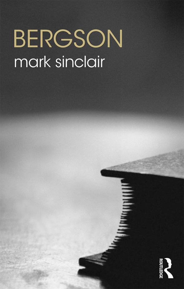 Bergson book cover