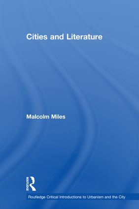 Cities and Literature book cover