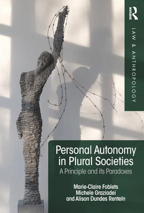 Personal Autonomy in Plural Societies: A Principle and its Paradoxes (Hardback) book cover