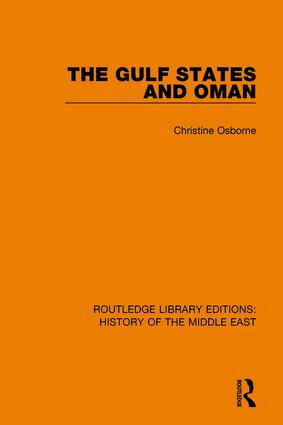 The Gulf States and Oman: 1st Edition (Paperback) book cover
