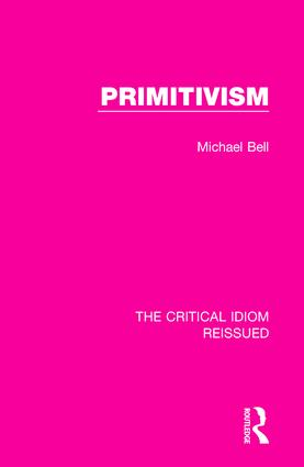 Primitivism: 1st Edition (e-Book) book cover