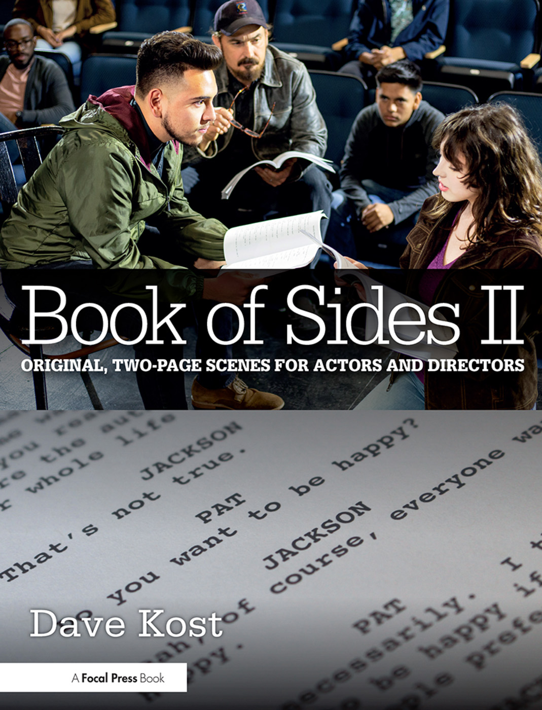 Book of Sides II: Original, Two-Page Scenes for Actors and Directors book cover
