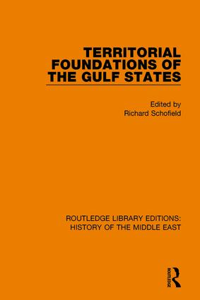 Territorial Foundations of the Gulf States book cover