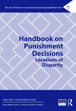 Handbook on Punishment Decisions: Locations of Disparity book cover