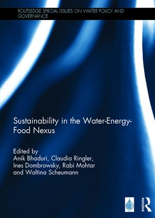 Sustainability in the Water-Energy-Food Nexus book cover