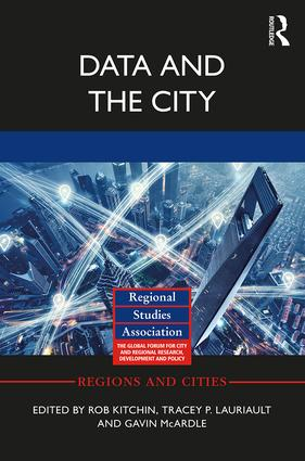 Data and the City (Paperback) book cover