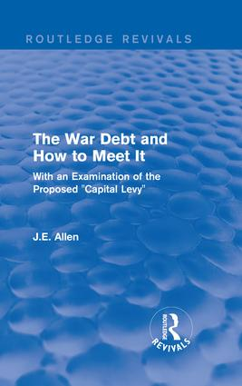 The Capital Levy