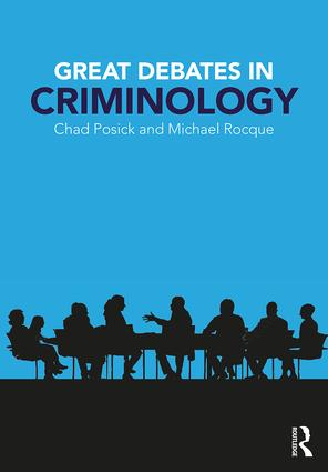 Great Debates in Criminology book cover