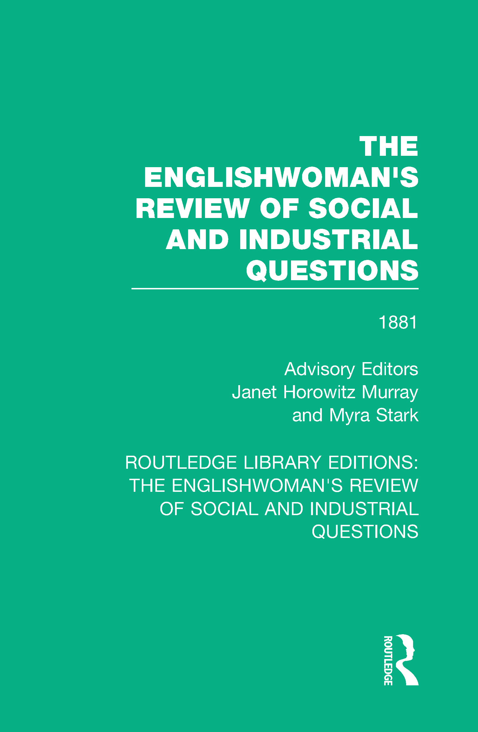 The Englishwoman's Review of Social and Industrial Questions: 1881 book cover