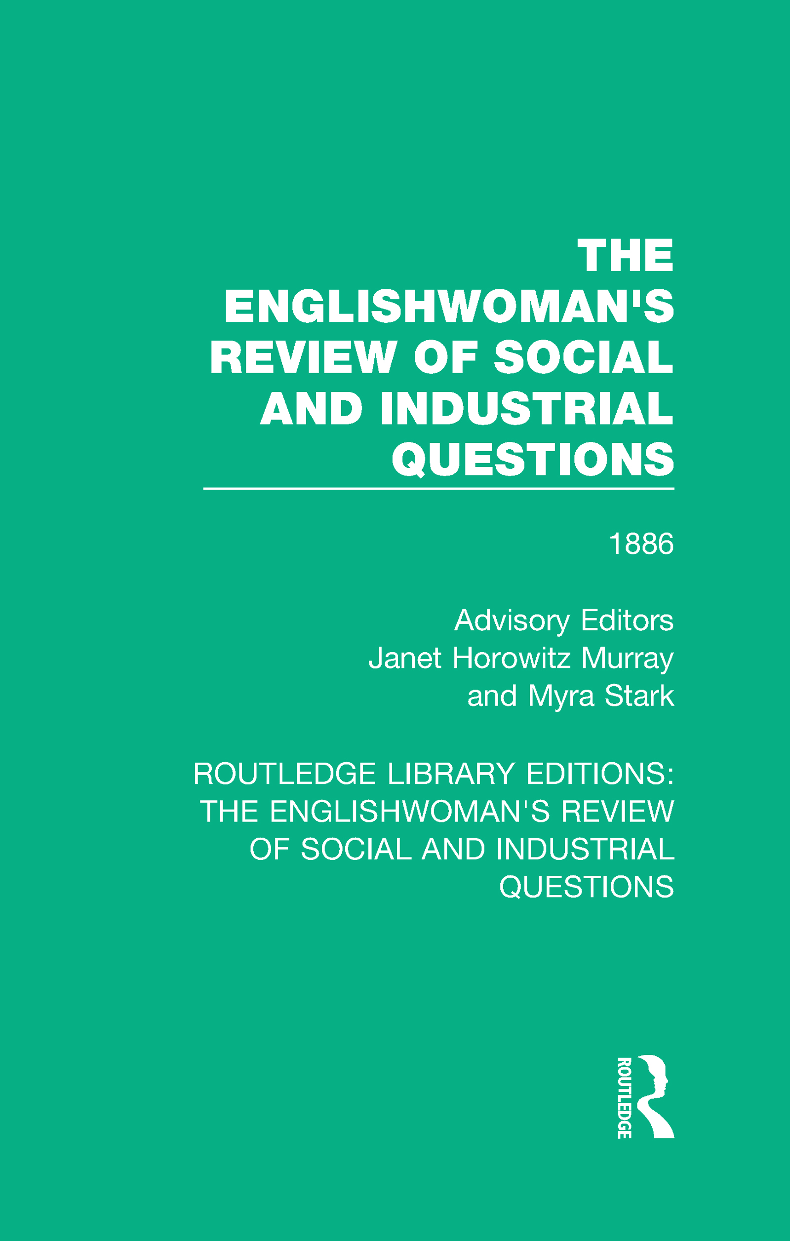 The Englishwoman's Review of Social and Industrial Questions: 1886 book cover