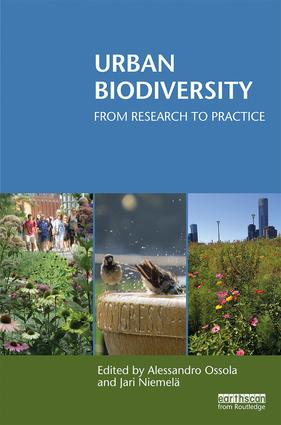 Urban Biodiversity: From Research to Practice book cover