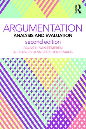 Argumentation: Analysis and Evaluation book cover