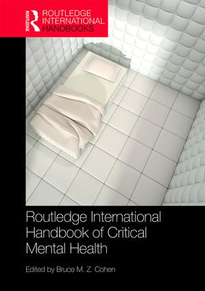 Routledge International Handbook of Critical Mental Health book cover