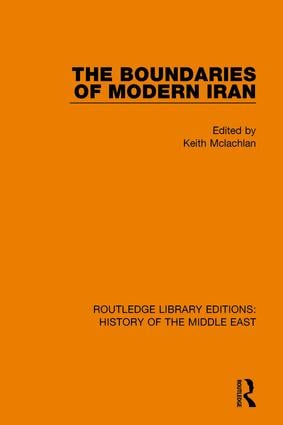 The Boundaries of Modern Iran book cover