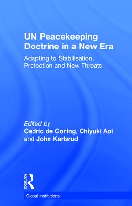UN Peacekeeping Doctrine in a New Era: Adapting to Stabilisation, Protection and New Threats, 1st Edition (Hardback) book cover
