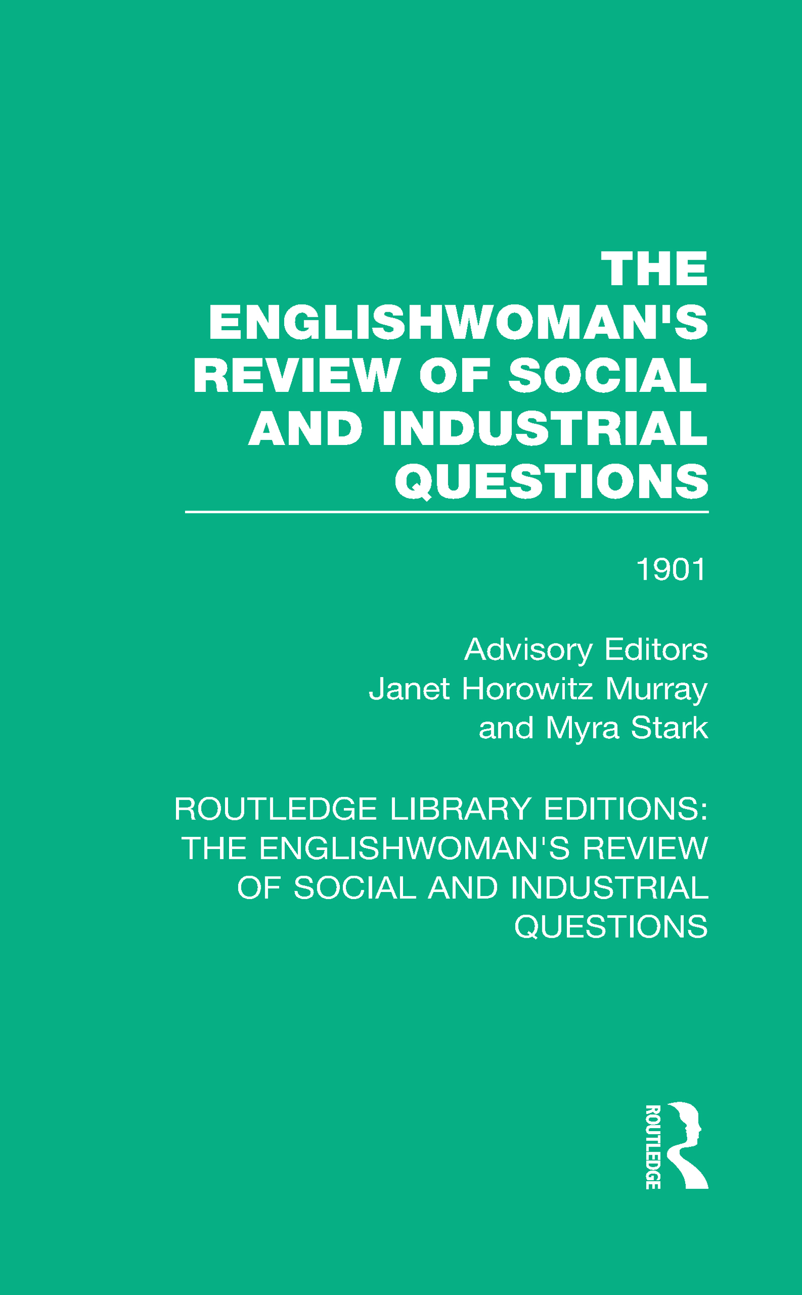 The Englishwoman's Review of Social and Industrial Questions: 1901 book cover