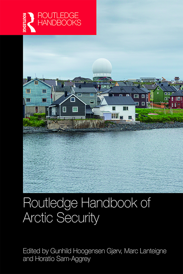 Routledge Handbook of Arctic Security book cover