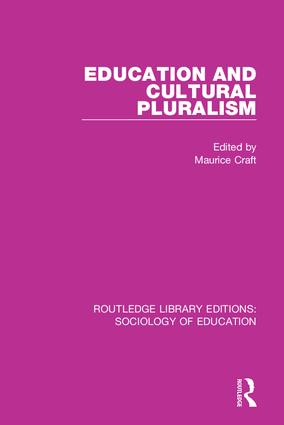 Education and Cultural Pluralism book cover
