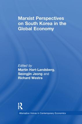 Marxist Perspectives on South Korea in the Global Economy book cover