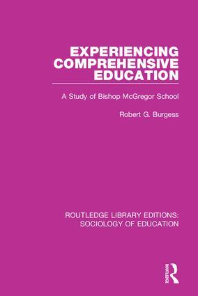 Experiencing Comprehensive Education: A Study of Bishop McGregor School book cover
