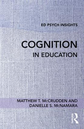 Cognition in Education book cover
